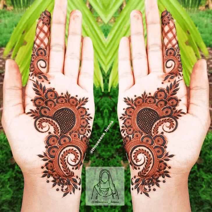 Angelic Seattle Henna Design