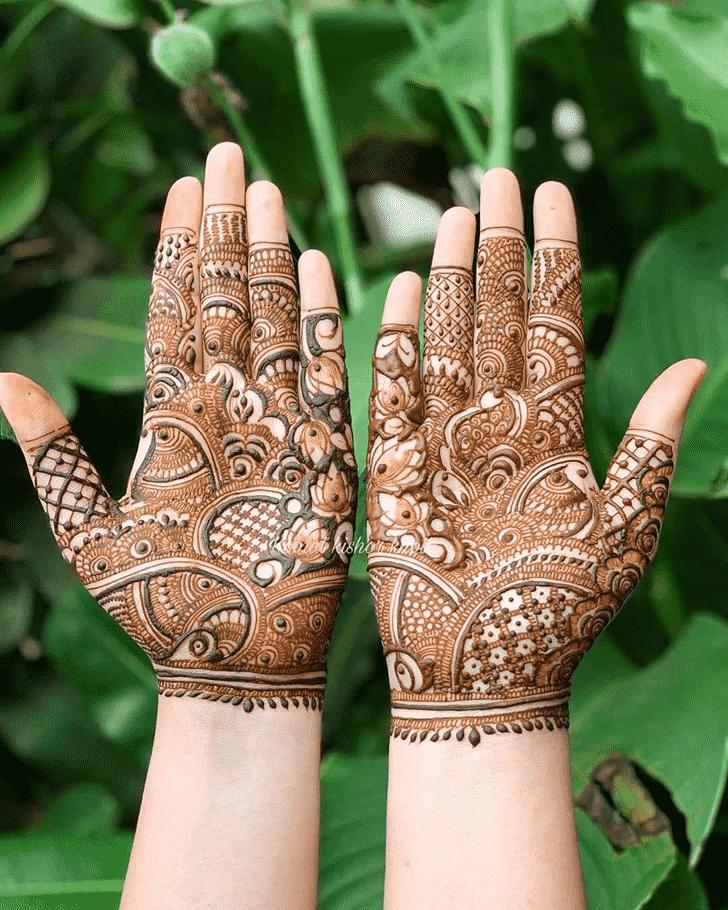 Captivating Seattle Henna Design