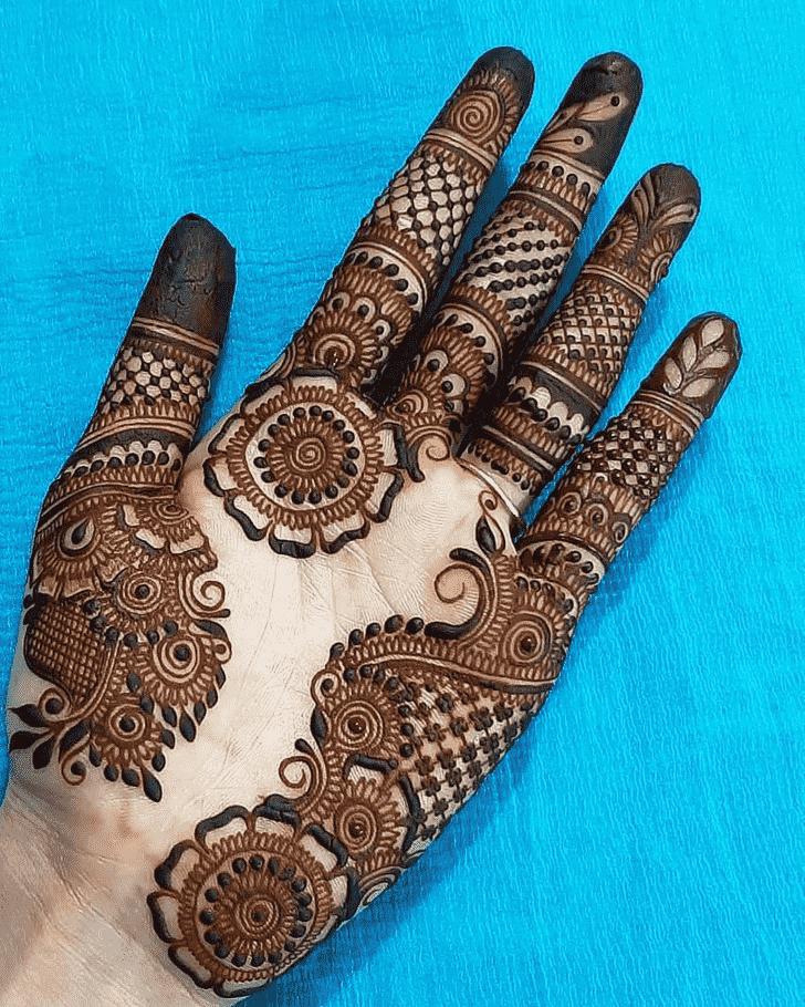 Charming Seattle Henna Design