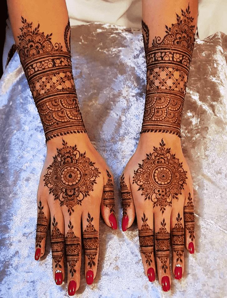 Classy Seattle Henna Design