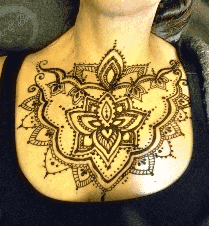 Angelic Seducing Henna Design