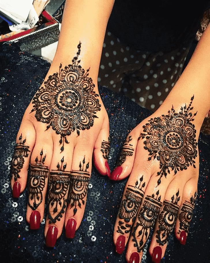 Adorable Seoul Henna Design