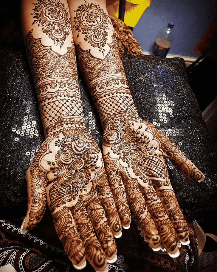 Appealing Seoul Henna Design