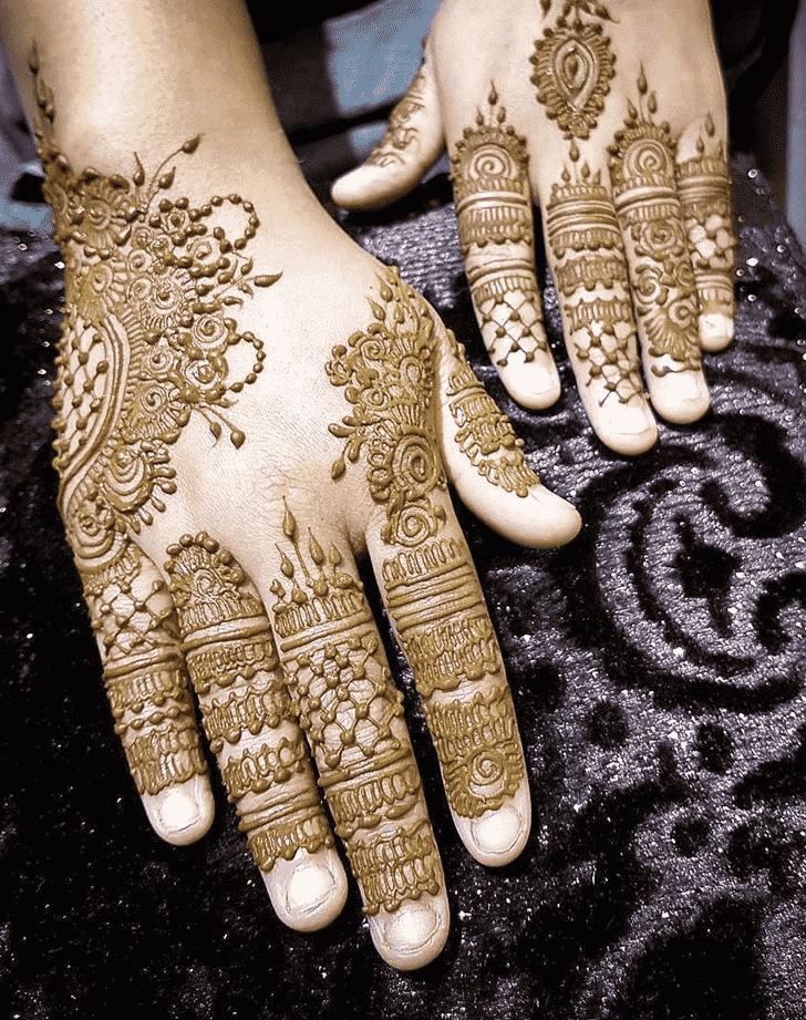 Captivating Seoul Henna Design
