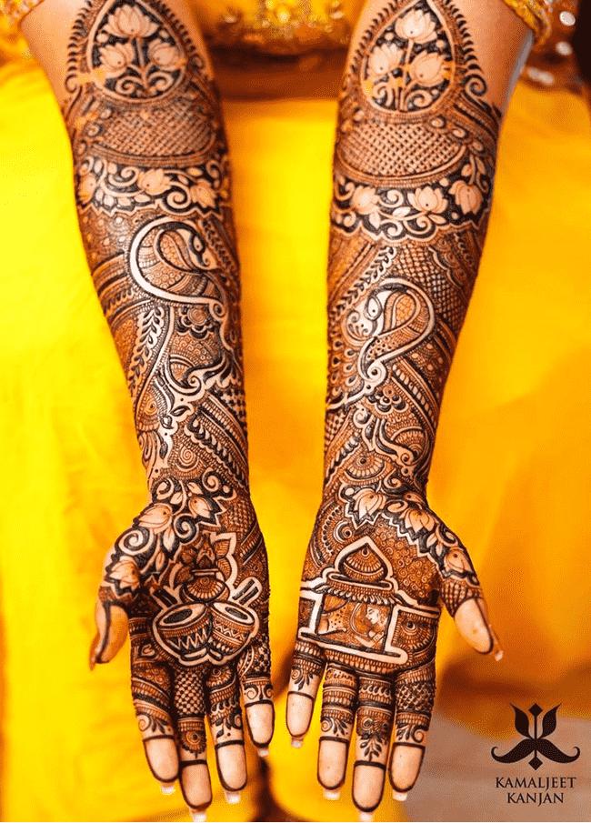 Adorable Shaadi Henna Design