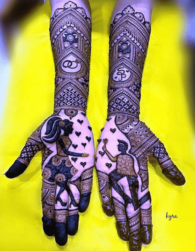 Angelic Shaadi Henna Design