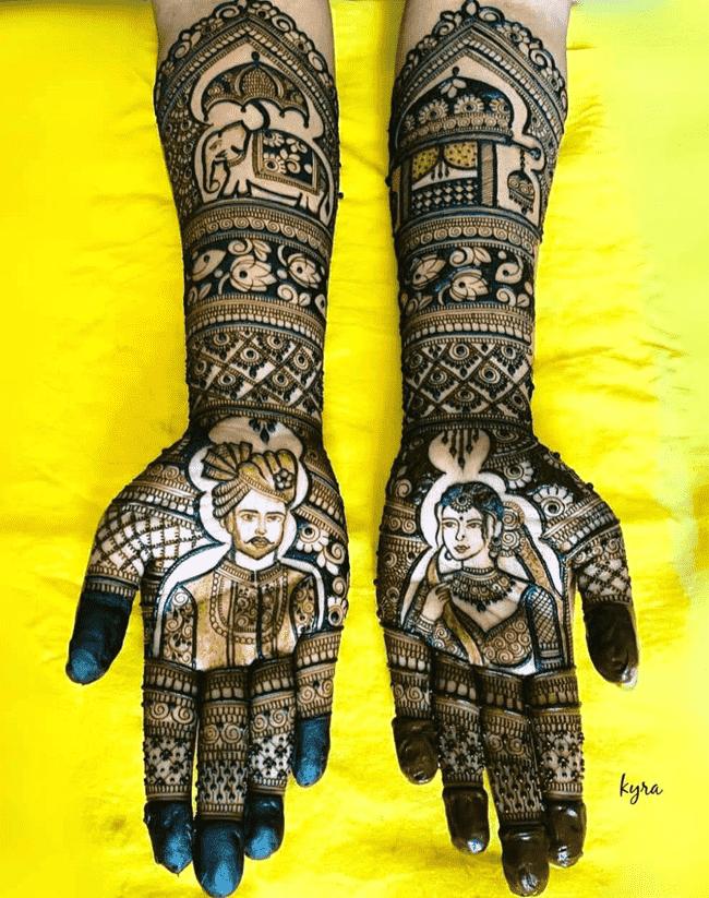 Appealing Shaadi Henna Design