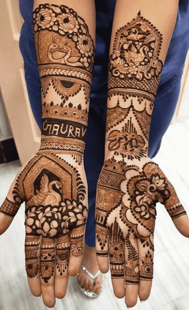 Beauteous Shaadi Henna Design