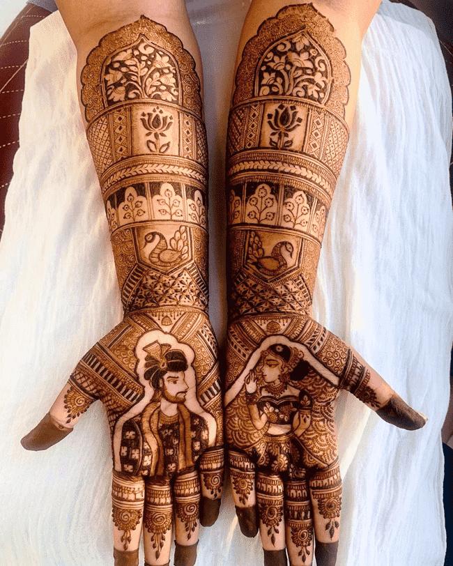 Bewitching Shaadi Henna Design