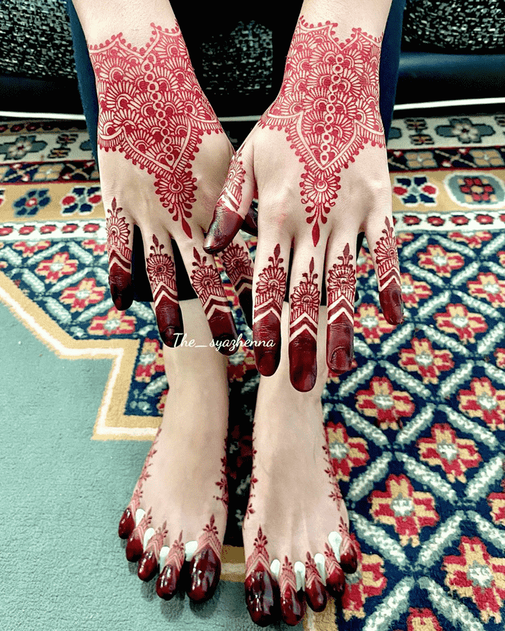 Admirable Shimla Mehndi Design