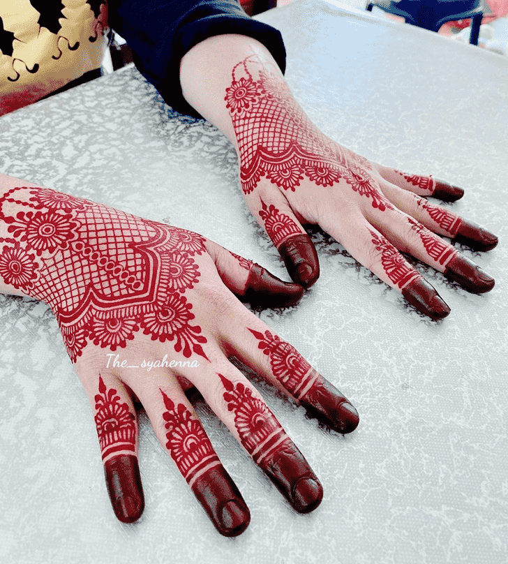 Adorable Shimla Henna Design