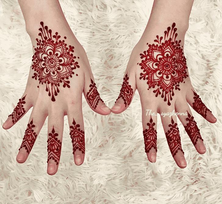 Angelic Shimla Henna Design