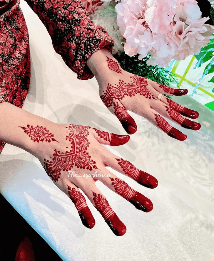 Appealing Shimla Henna Design