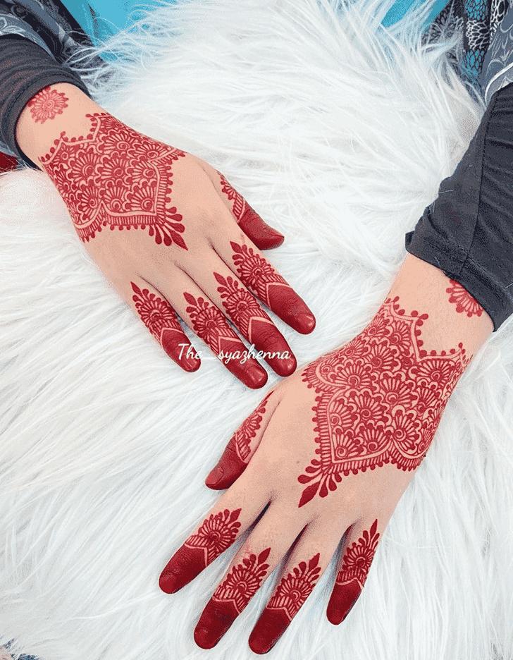 Bewitching Shimla Henna Design