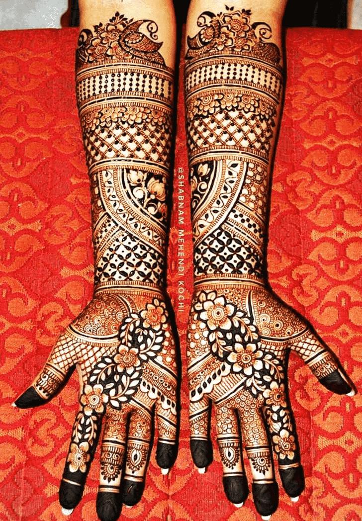 Alluring Shivratri Henna design