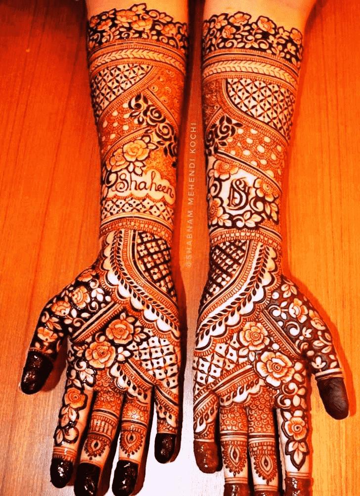 Dazzling Shivratri Henna design