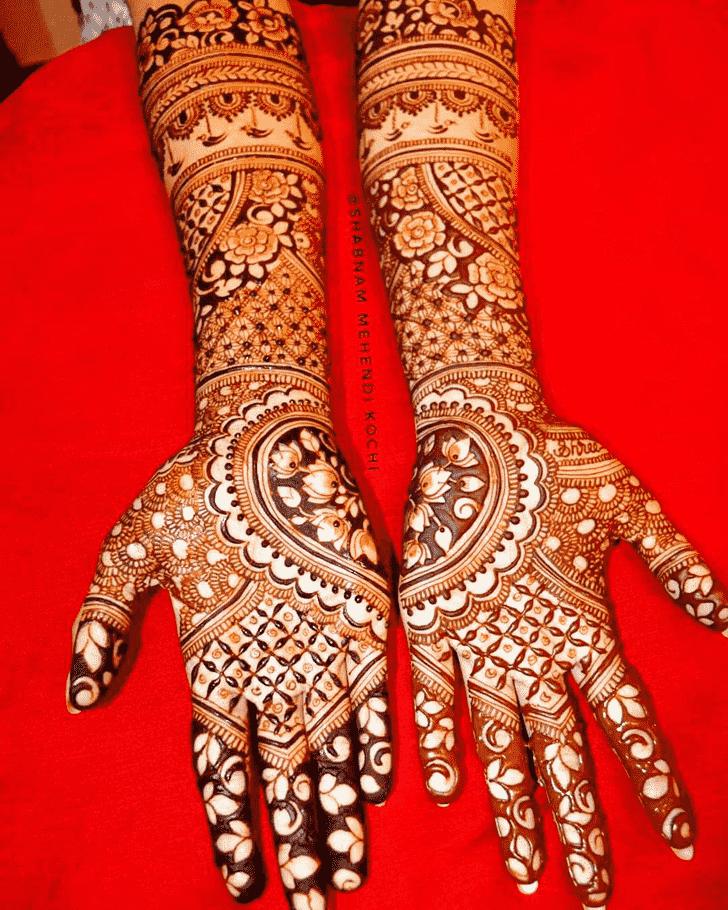Exquisite Shivratri Henna design