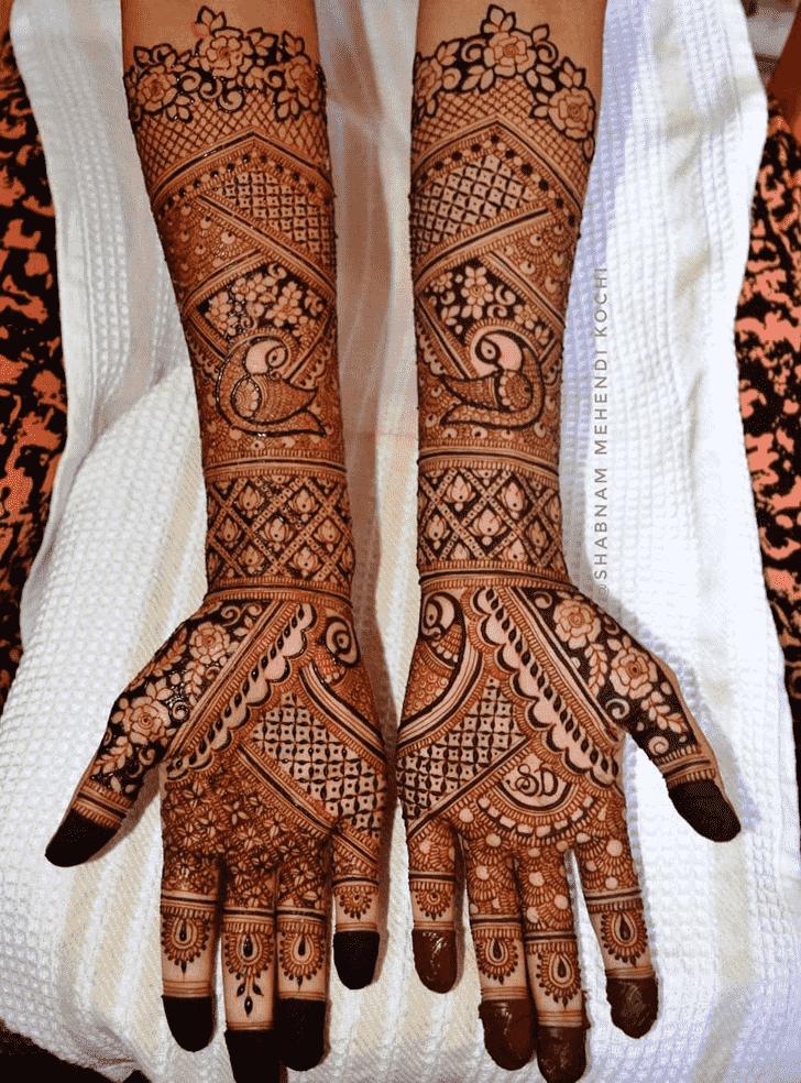 Grand Shivratri Henna design