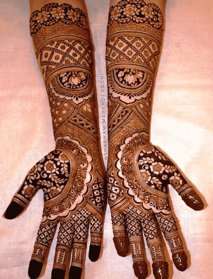 Ideal Shivratri Henna design