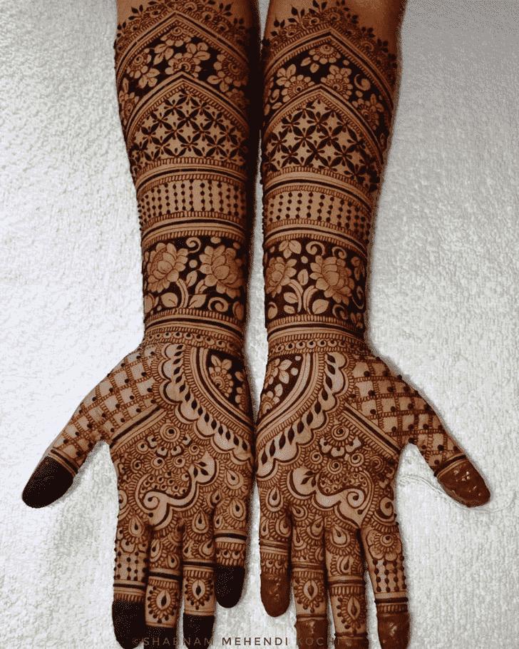 Marvelous Shivratri Henna design