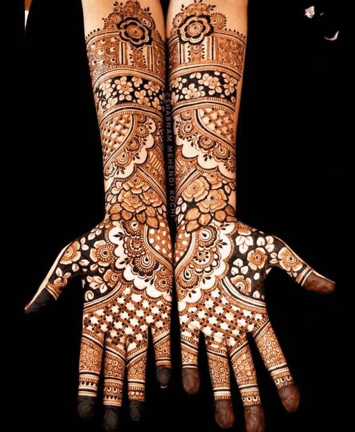 Splendid Shivratri Henna design