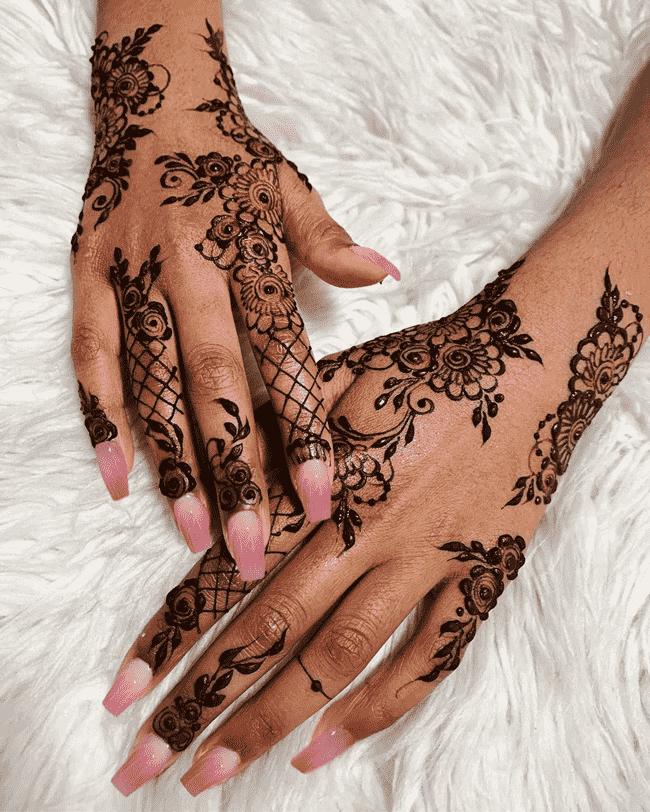 Angelic sialkot Henna Design