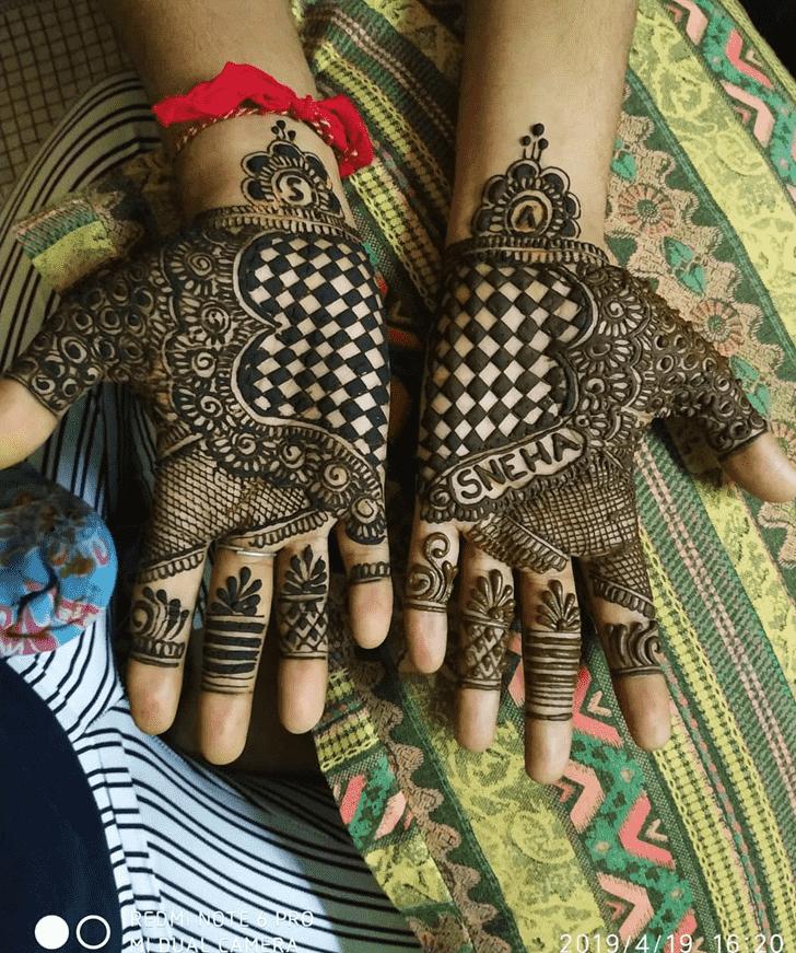 Adorable Silicon Valley Henna Design