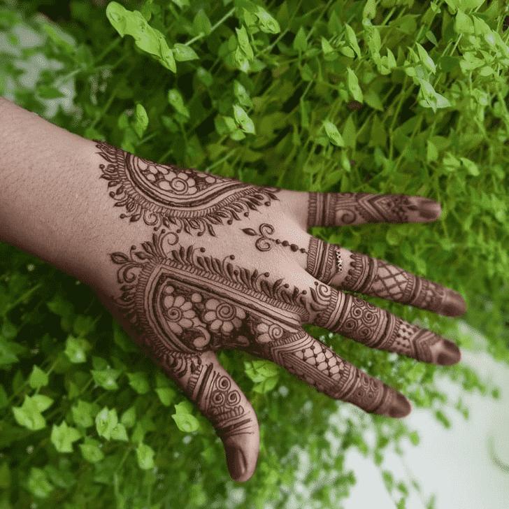 Alluring Silicon Valley Henna Design