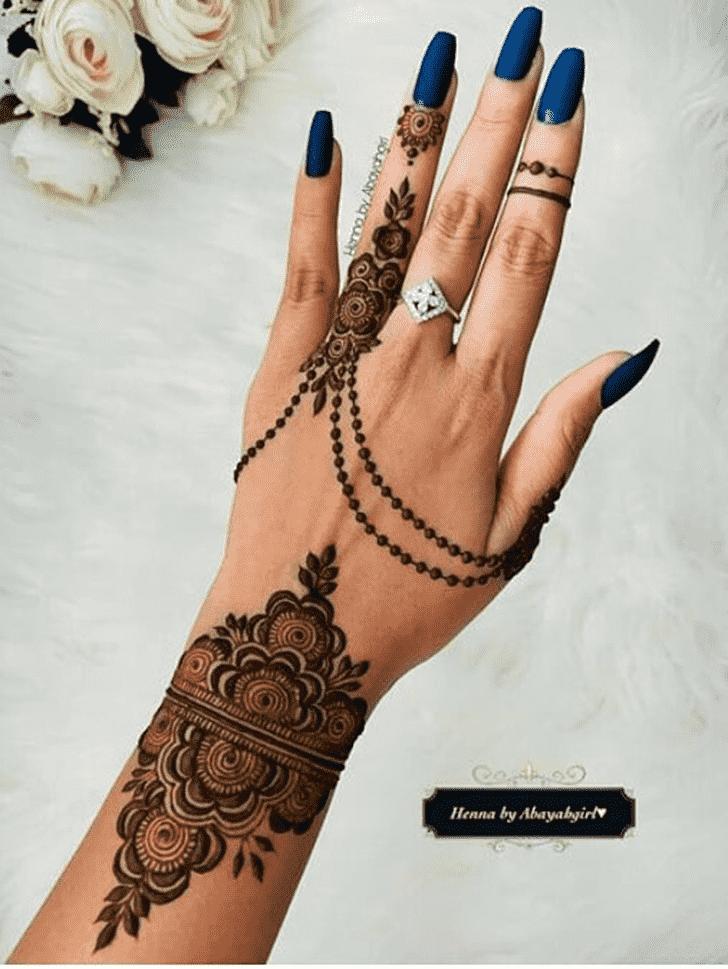 Bewitching Silicon Valley Henna Design