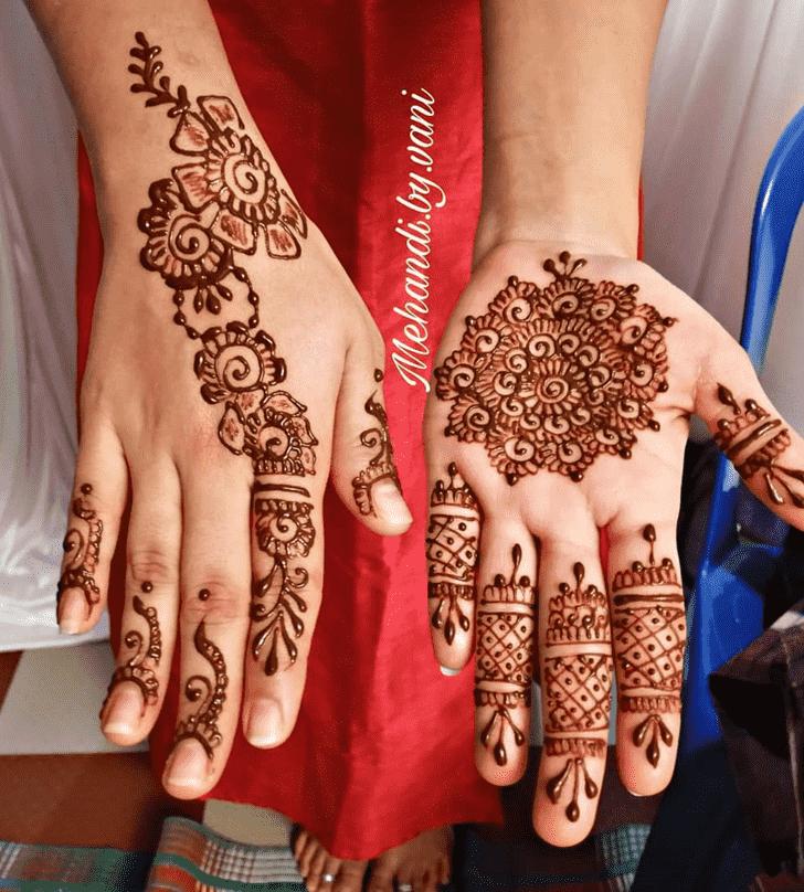 Captivating Silicon Valley Henna Design