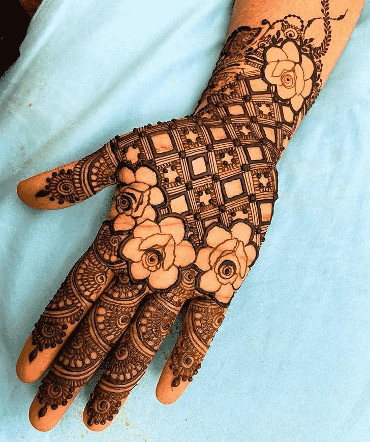 Adorable Simple Henna design