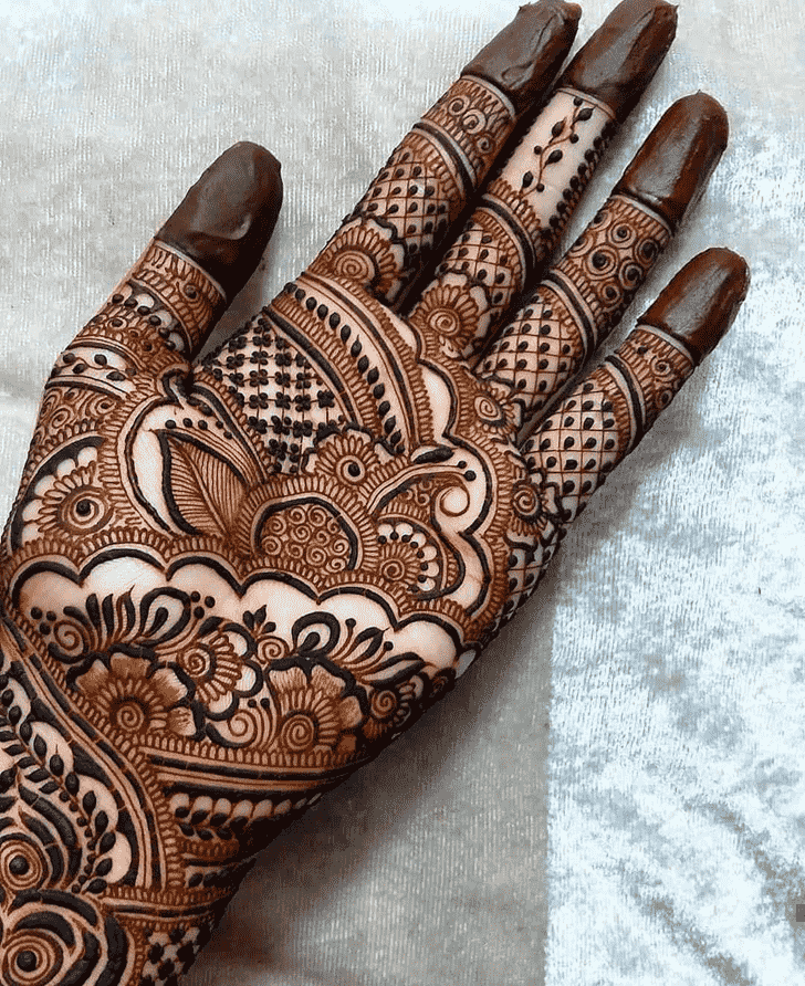 Bewitching Simple Henna design