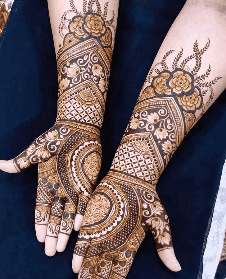 Captivating Simple Henna design