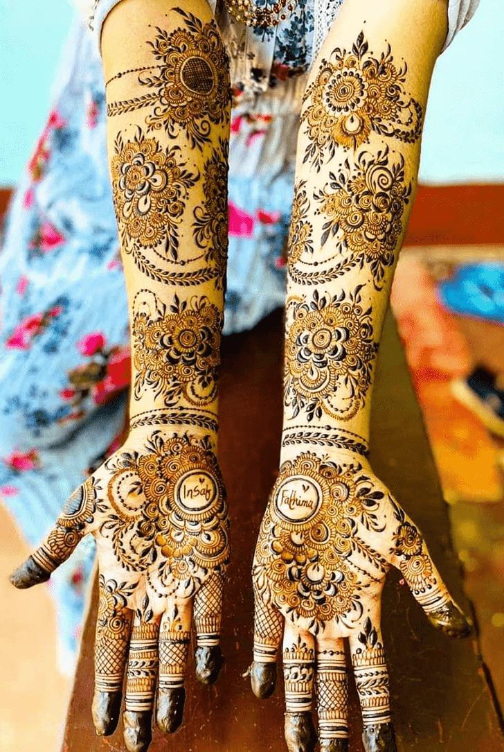 Classy Simple Henna design
