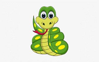Snake Mehndi Design