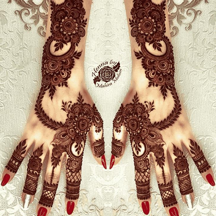 Classy Stockholm Henna Design