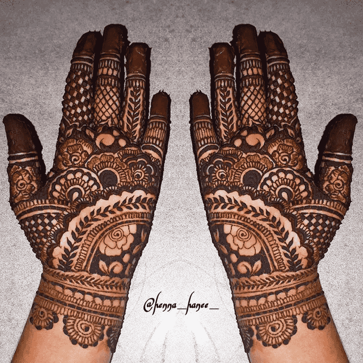 Admirable Stunning Mehndi design