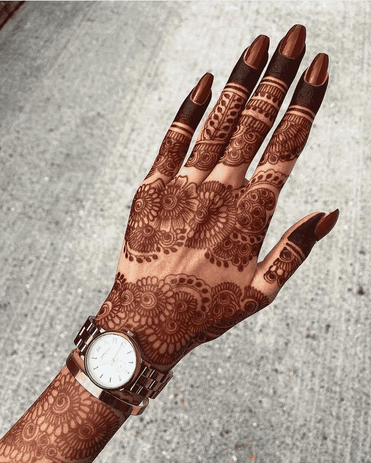 Angelic Stunning Henna design