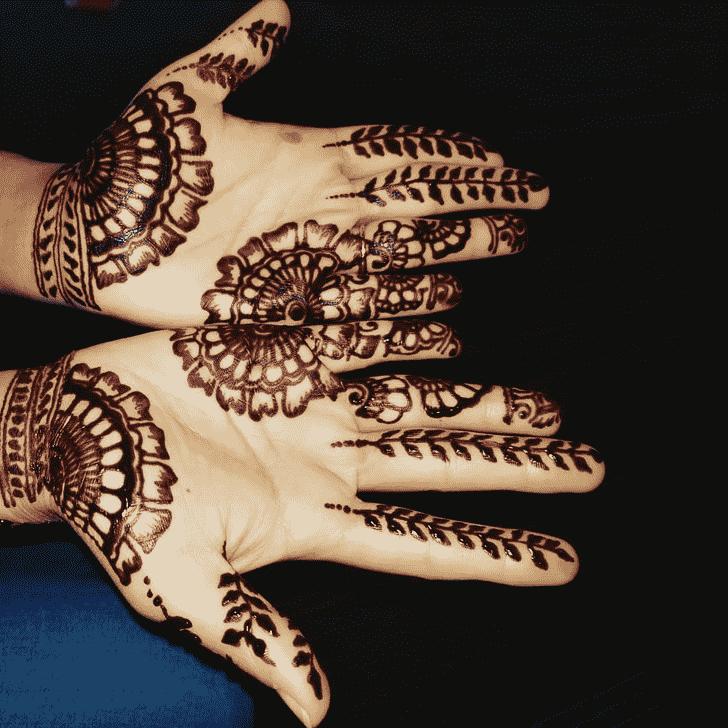 Appealing Stunning Henna design