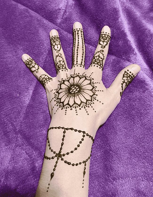 Appealing Sukkur Henna Design