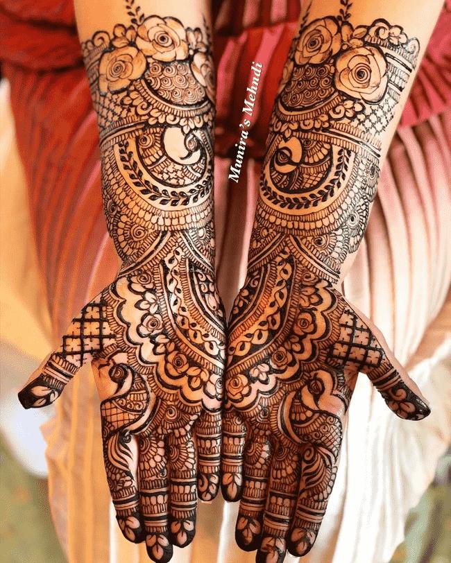 Charming Sukkur Henna Design