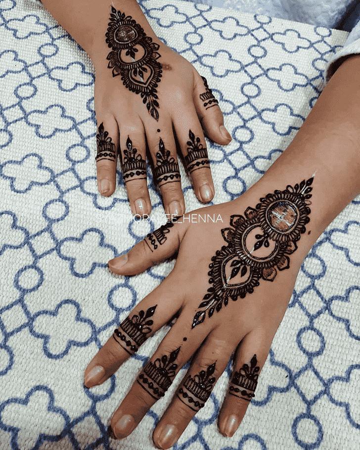 Magnificent Surat Henna Design