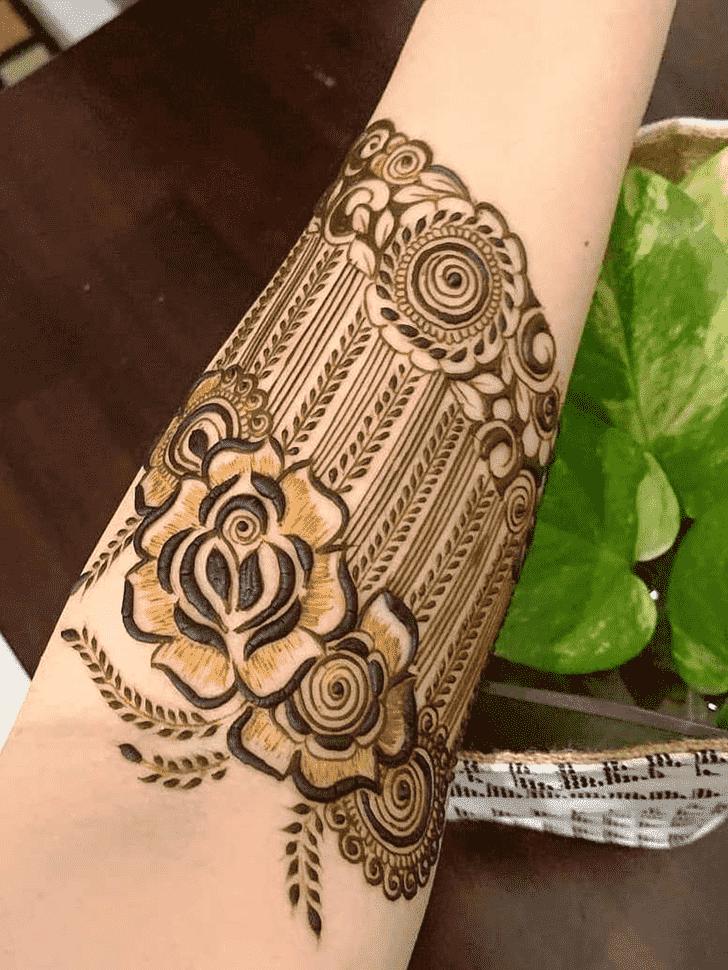 Wonderful Surat Mehndi Design