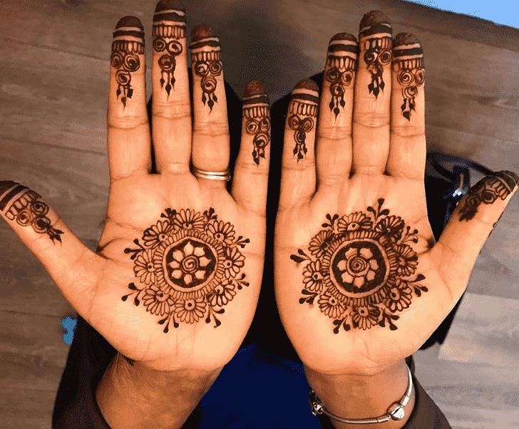 Admirable Tikki Mehndi Design