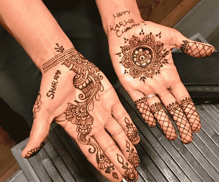 Angelic Tikki Henna Design
