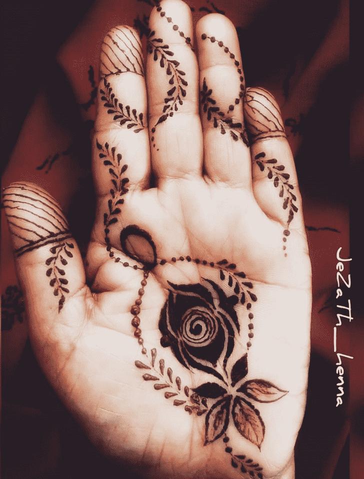 Bewitching Tiruchirappalli Henna Design