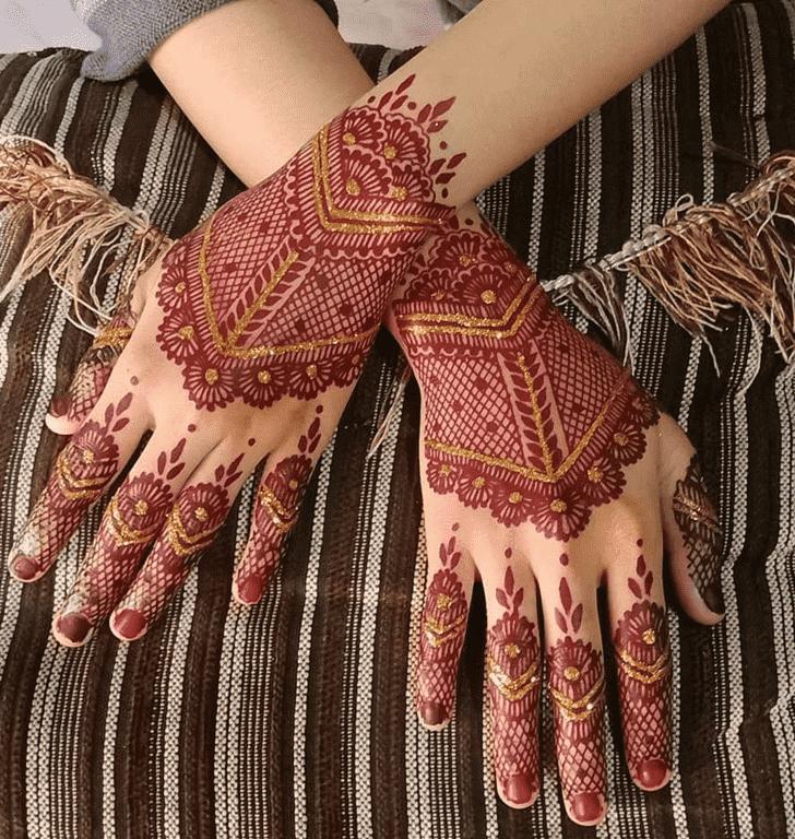 Captivating Tiruchirappalli Henna Design