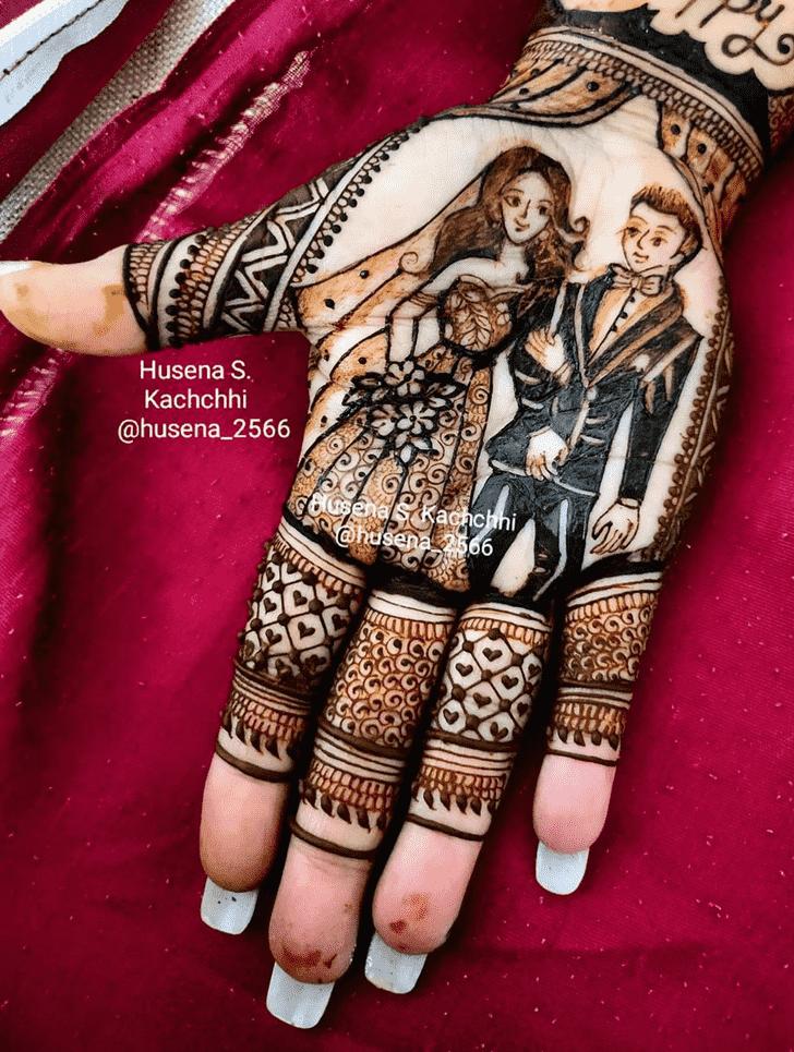 Charming Tiruchirappalli Henna Design