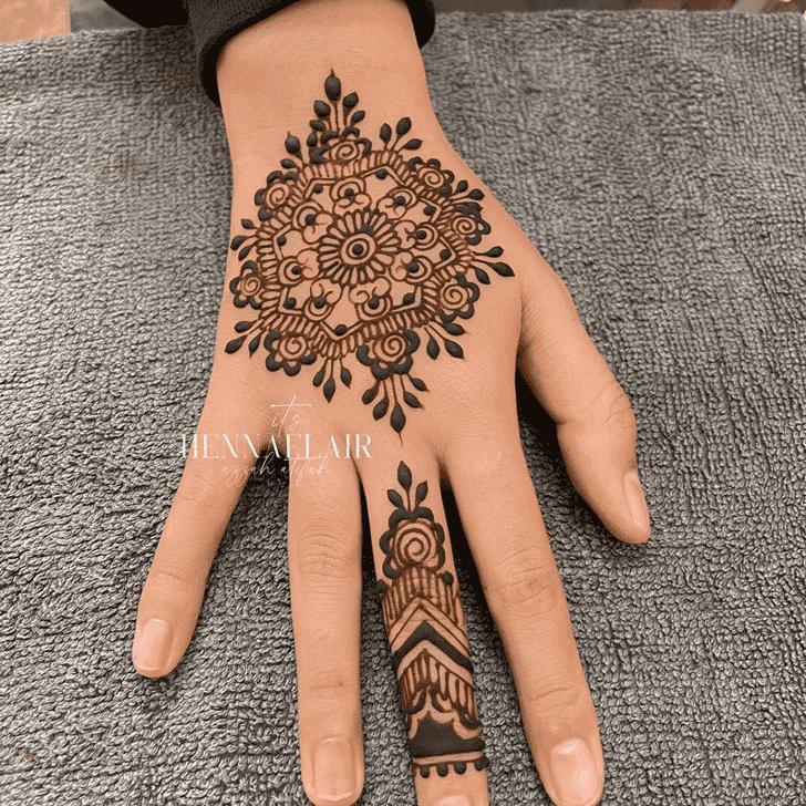 Excellent Tiruchirappalli Henna Design