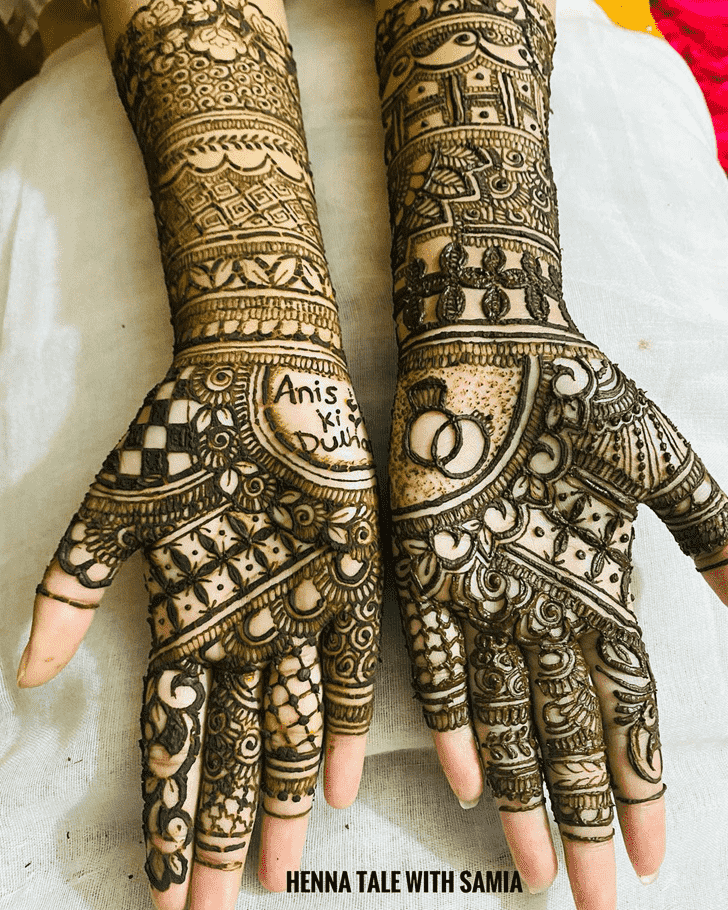Fair Tiruchirappalli Henna Design